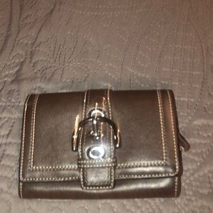 Authentic Coach Soho leather wallet